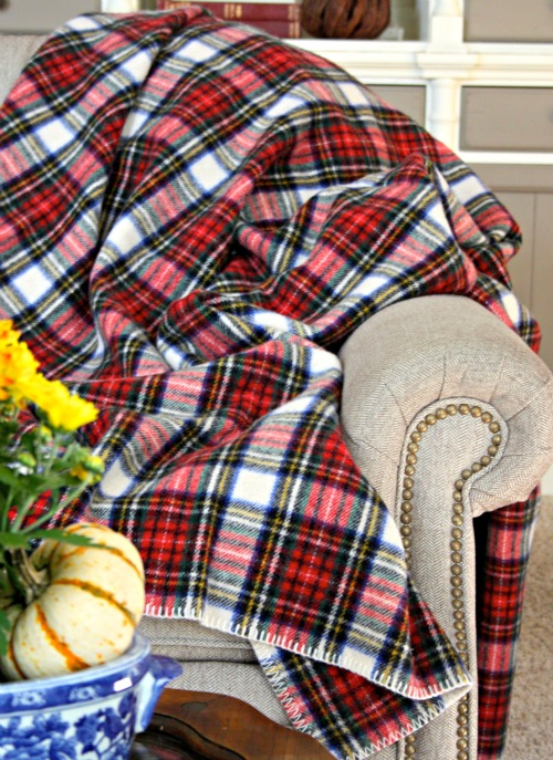 Eddie-Bauer-Plaid-Wool-Blanket