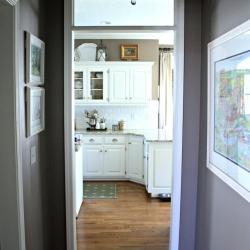 Kitchen-hallway