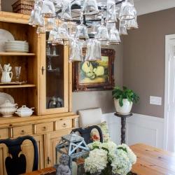Dining-room-wine-glass-chandelier