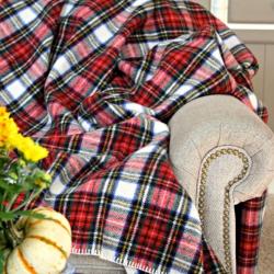 Eddie-Bauer-Plaid-Wool-Blanket