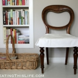 Quick-antique-chair-makeover-at-CreatingThisLife.com_