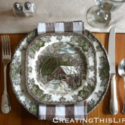Thanksgiving-Table-with-Friendly-Village-Dishes