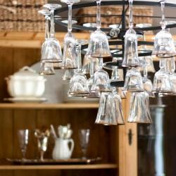 Wine-glass-chandelier