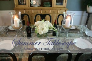 End of Summer Tablesetting
