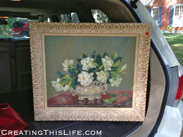 Estate Sale Artwork Oil Painting Estate Sale