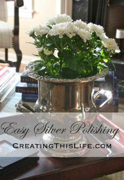 Easy Silver Polishing CreatingThisLife.com