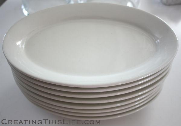 steakhouse plates