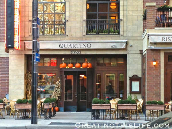 Chicago Quartino decorated for Fall