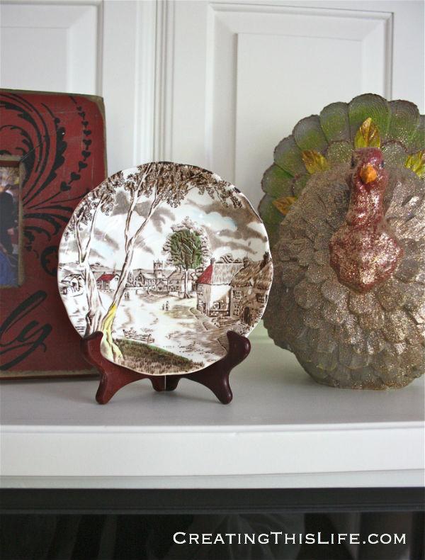 Fall kitchen staffordshire sunday morning transferware