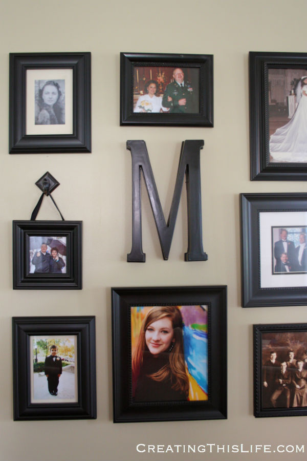 Creating A Family Photo Wall Creating This Life