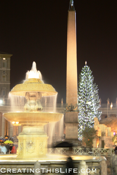 St. Peter's Square Christmas Eve