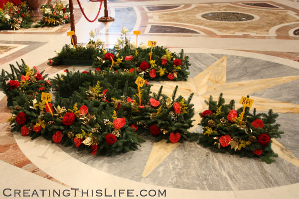 St. Peters day after Christmas