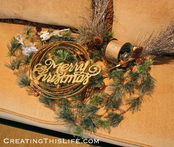 Christmas garland supplies