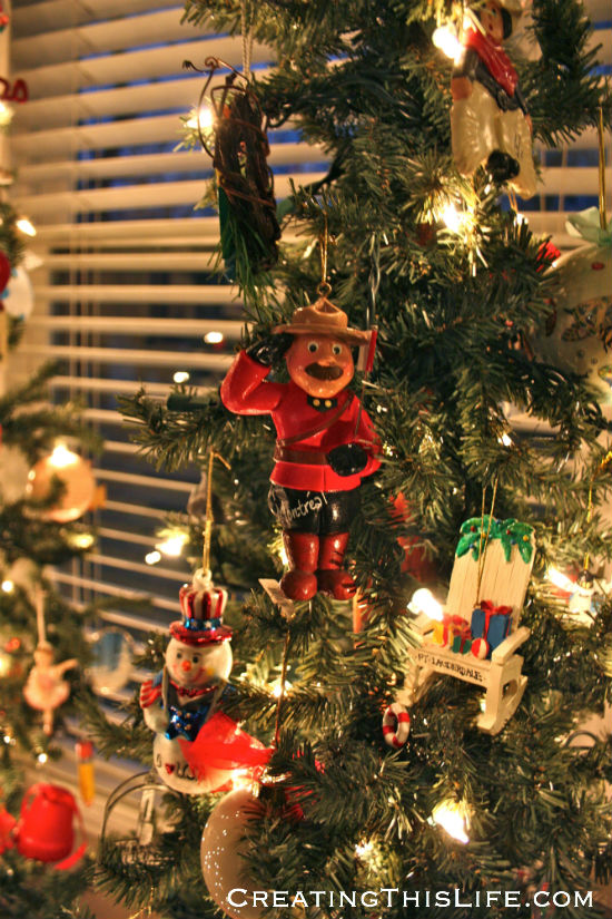 Christmas travel tree
