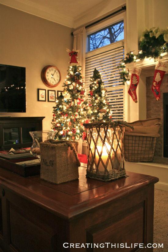 Family Room Christmas
