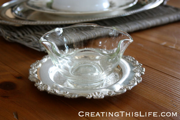 Clear Wavy Glass Bowl