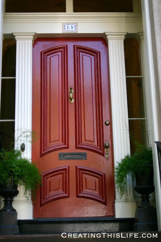 Savannah Red Door