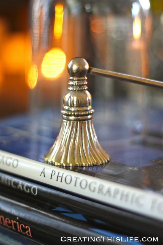 Silver Candle Snuffer