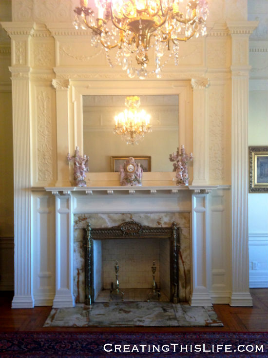 Cupples House Fireplace