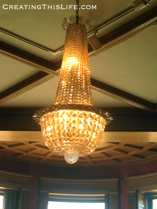 Library chandelier