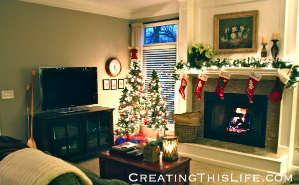 Family Room Christmas