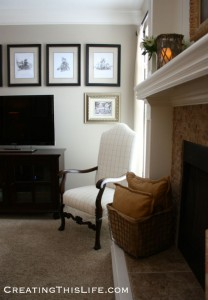 Family Room Mini-Makeover