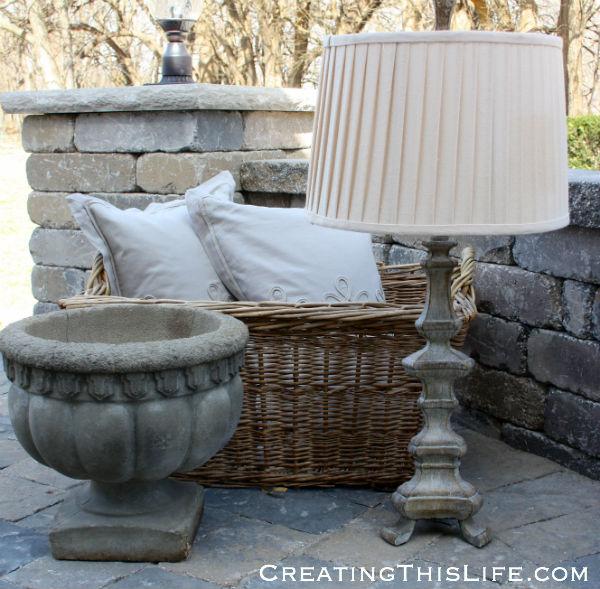 concrete-planter-vera-wang-pillows-grey-lamp