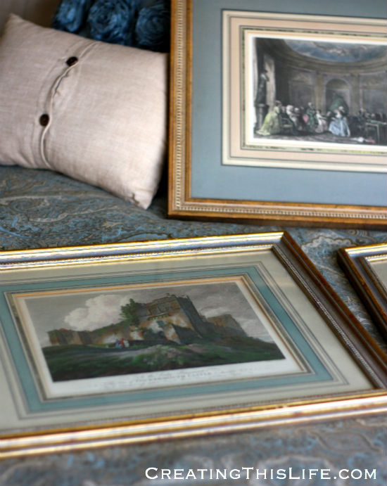 secondhand prints for bedroom