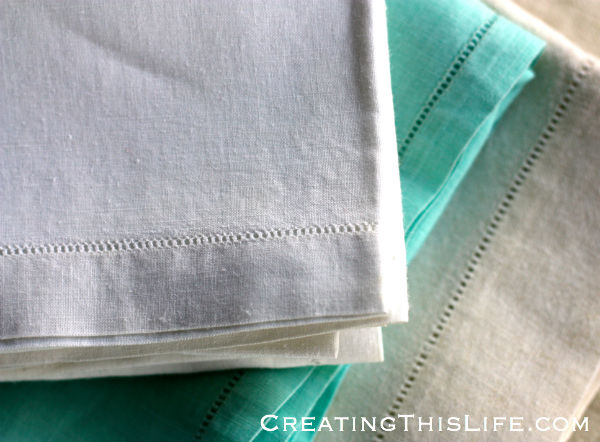 Ihemstitch linens