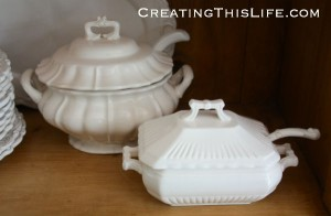 White Soup Tureens