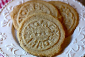 Stamped, Homemade Peanut Butter Cookies