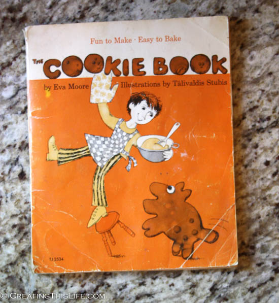 Scholastic Cookie Book copyright 1973