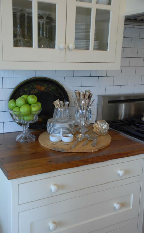 Kitchen accessories in Mary Carol Garrity's new home