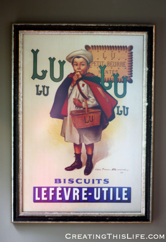 LuLu Vintage French Advertising Poster