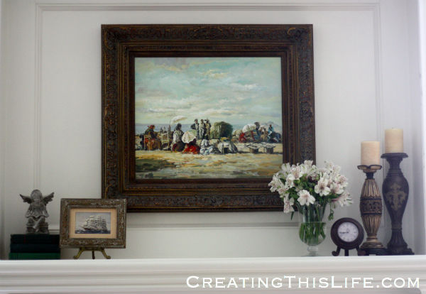 Family Room Mantle