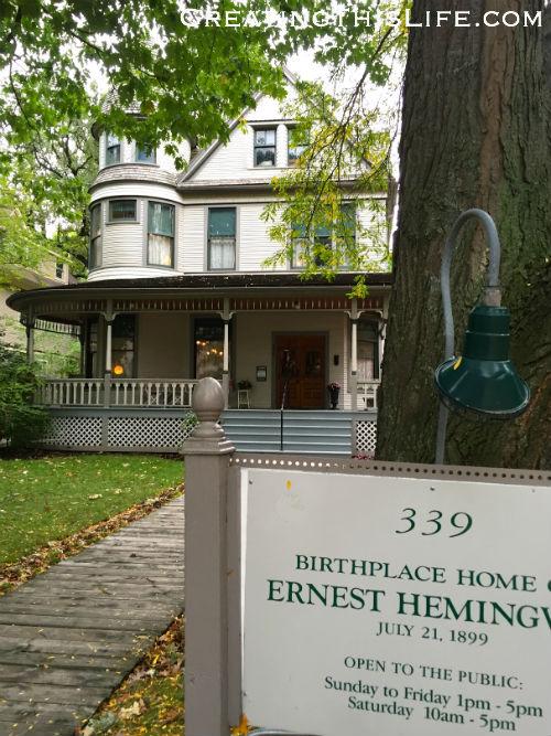 Ernest Hemingway birthplace in Oak Park IL