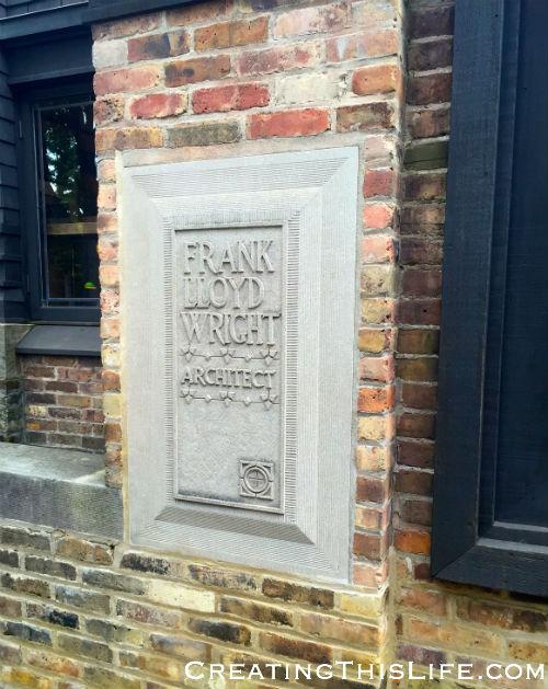 Frank Lloyd Wright home and studio in Oak Park IL