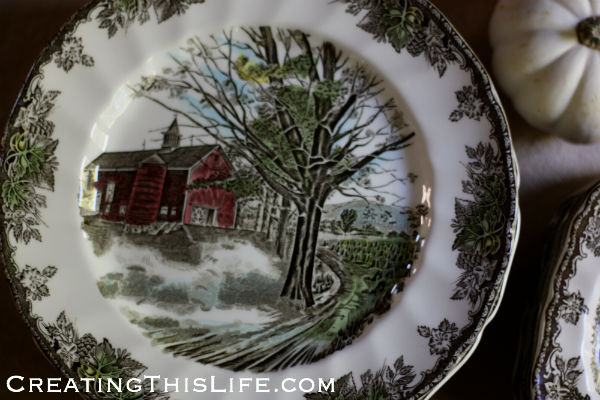 Secondhand Finds: Thanksgiving Edition - Creating This Life