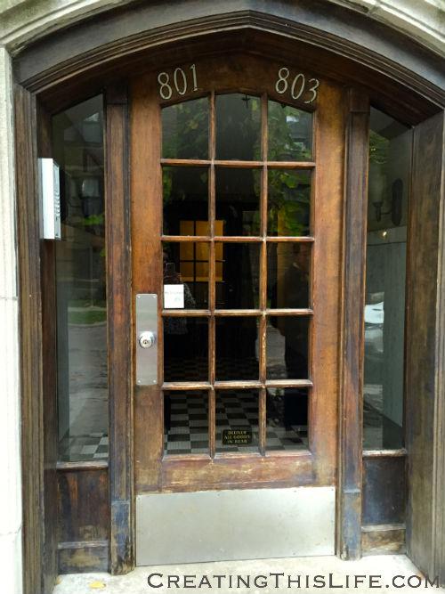 Oak Park Doorway