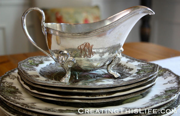silver gravy boat