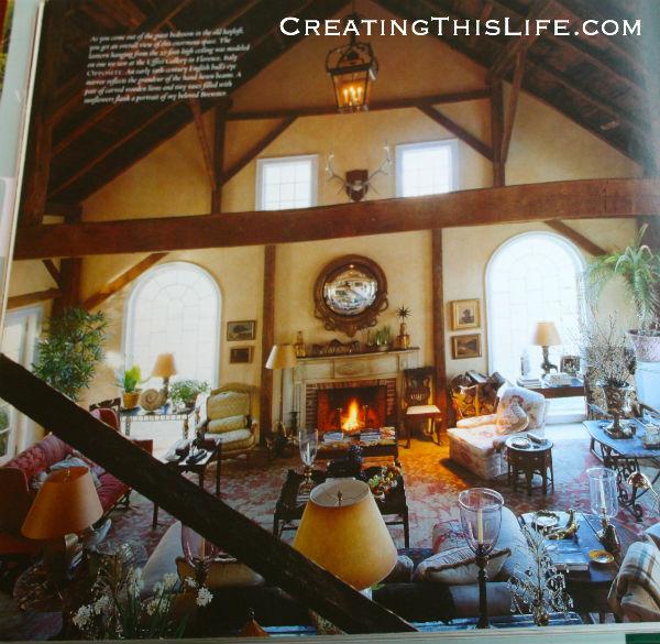Bunny Williams Barn Interior