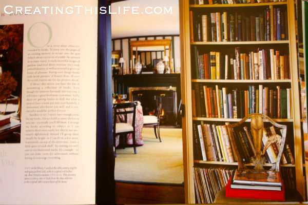 Bunny Williams on living with books