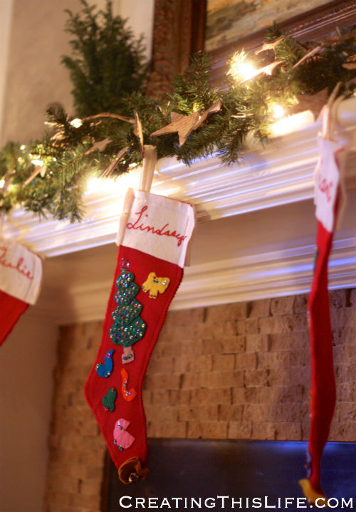 Family room stockings