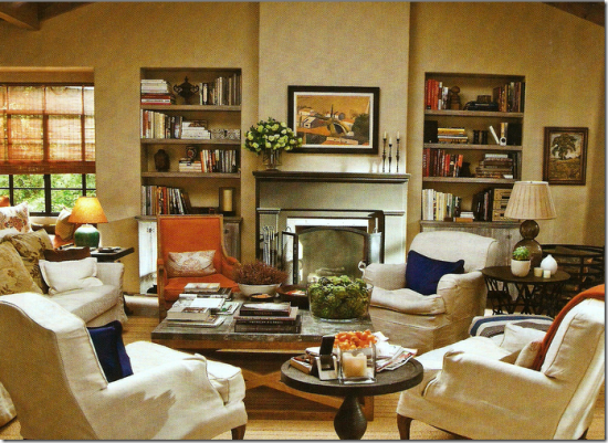 It's complicated living room