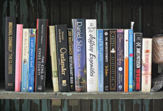 To Be Read Bookshelf