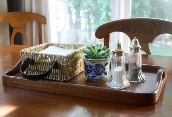 kitchen table tray