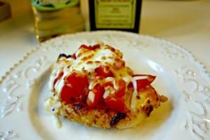 Summer Tomatoes and Bruschetta Chicken