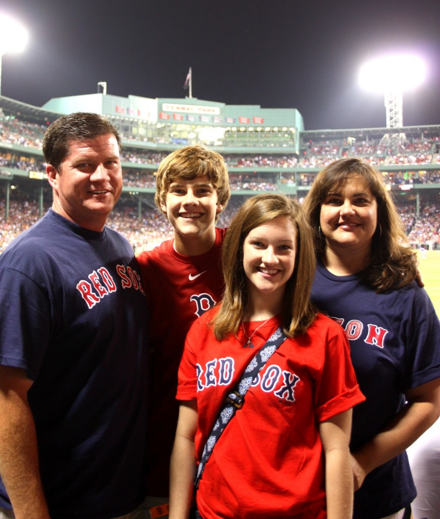 family at fenway