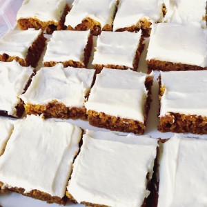 Jillian's Killer Pumpkin Bars