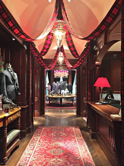 Ralph Lauren Store Chicago at Christmas